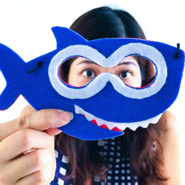Baby Shark Workshop Mask