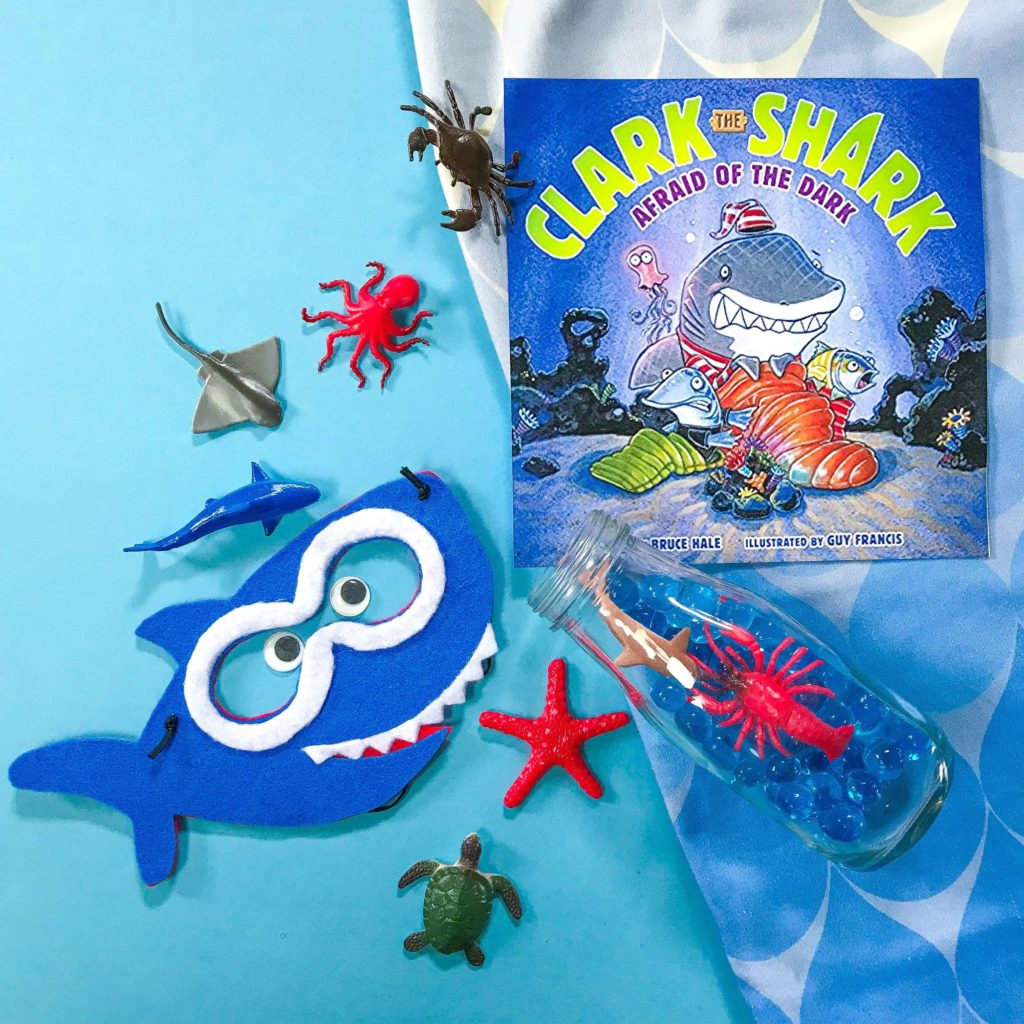 Baby Shark Workshop Mask and Book