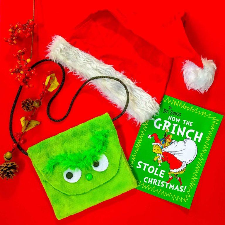 PositiveLeePeilin - The Grinch DIY Bag with Book