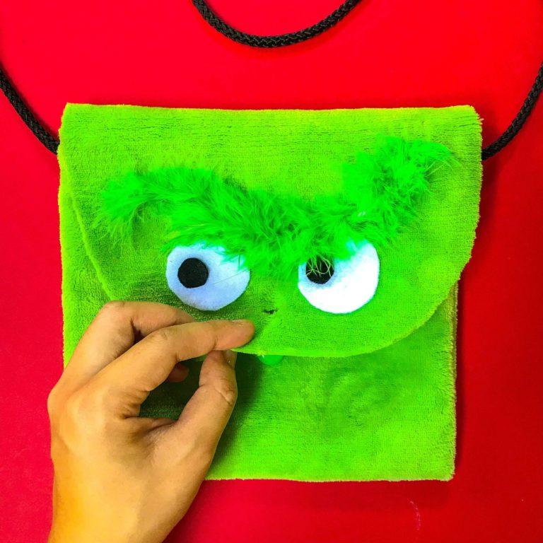 PositiveLeePeilin - The Grinch DIY Bag