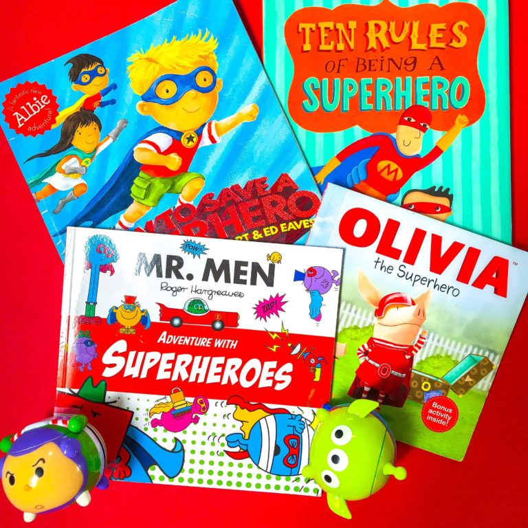 Top 3 Children's Books about Superheroes
