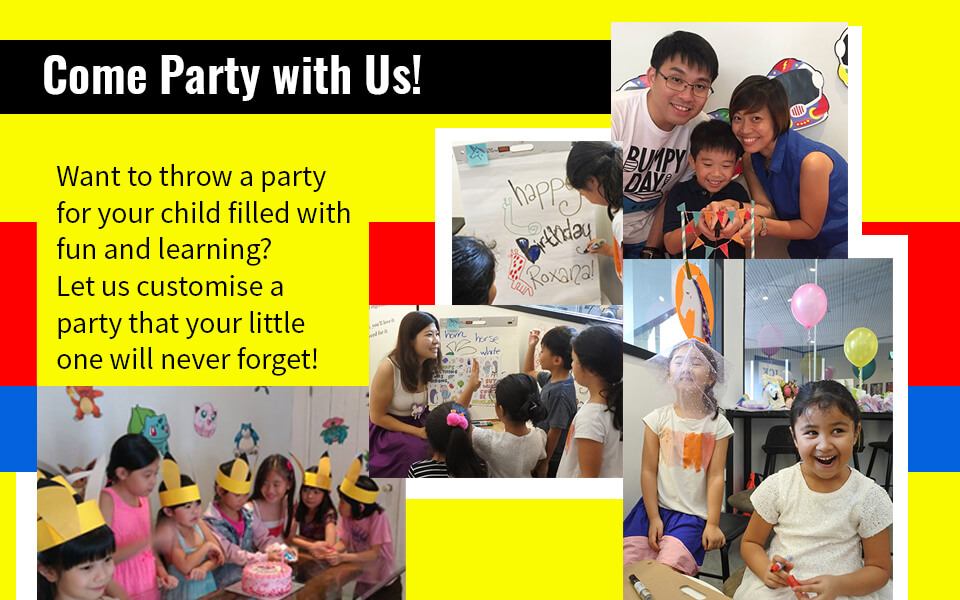 Home Banner - Birthday PartyWorkshops960x600 Dec v1