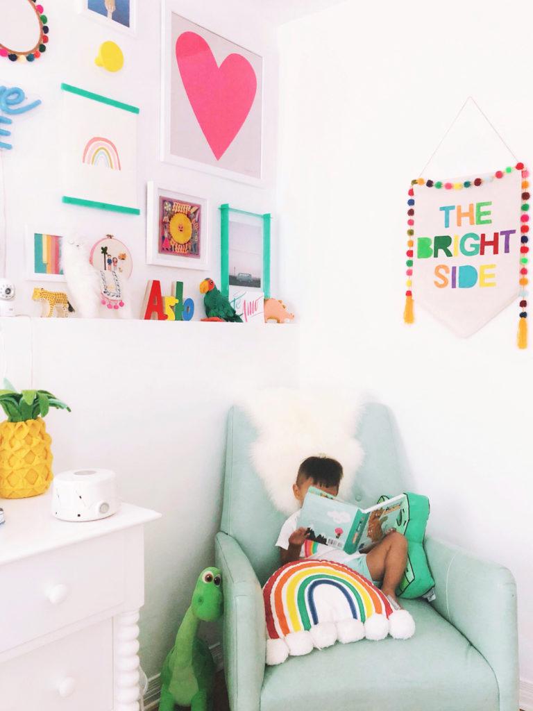 Studio DIY Reading Toddler