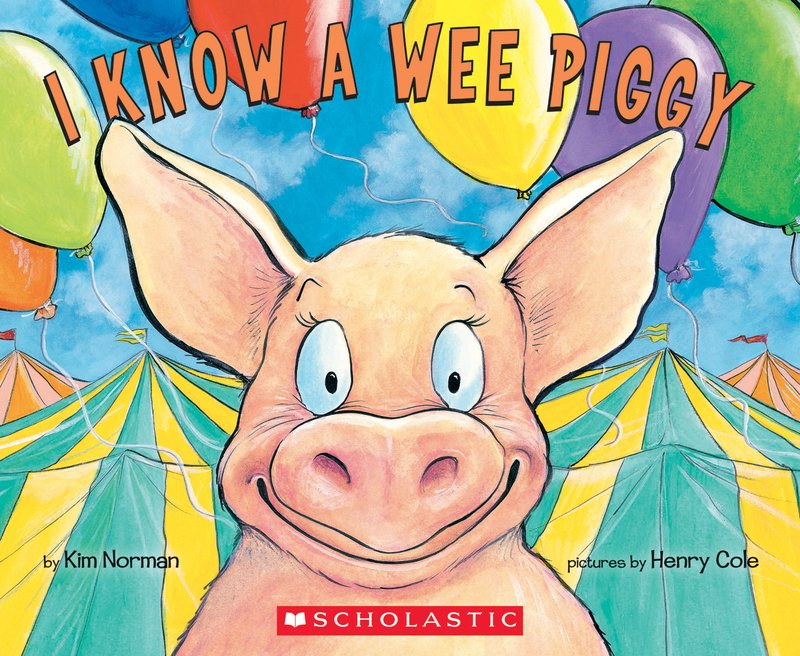 Books about Elephants - I Know A Wee Piggy Cover