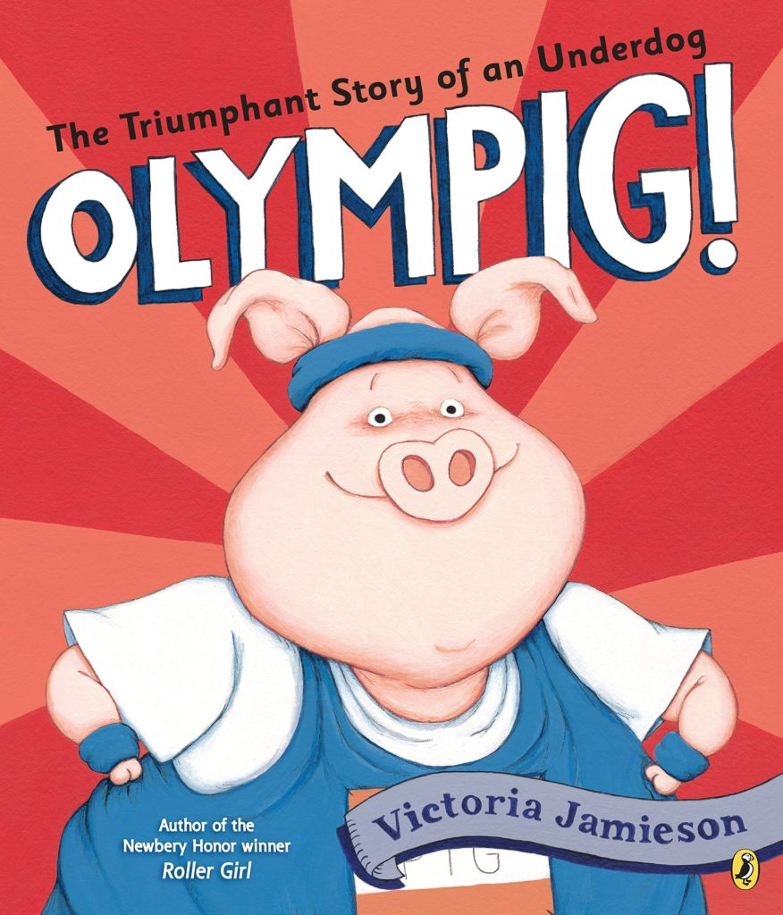 Books about Pigs - Olympig Book Cover