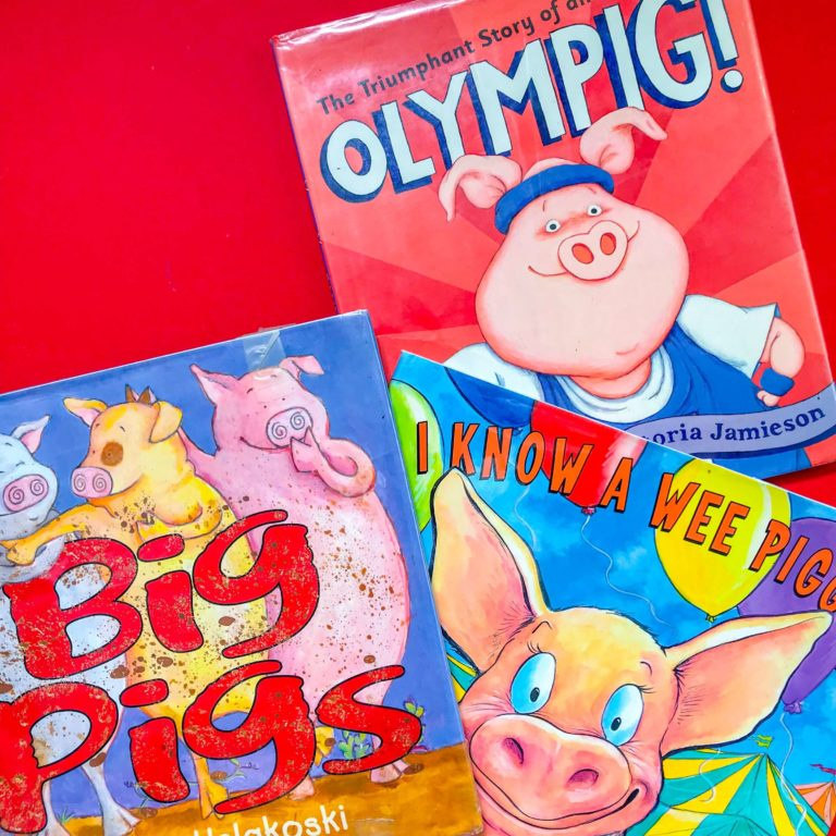Top 3 Children's Books about Pigs