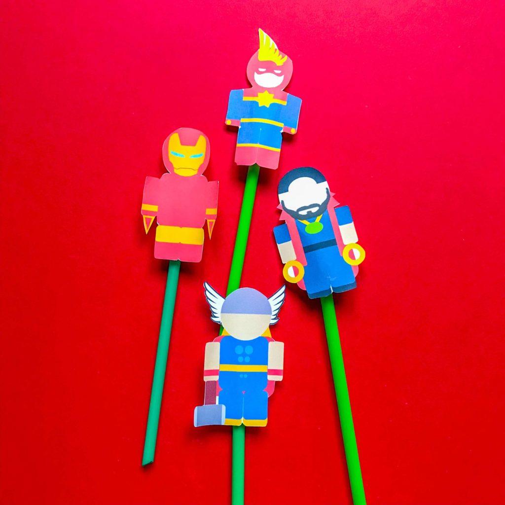 Superhero DIY Kids Crafts Avengers