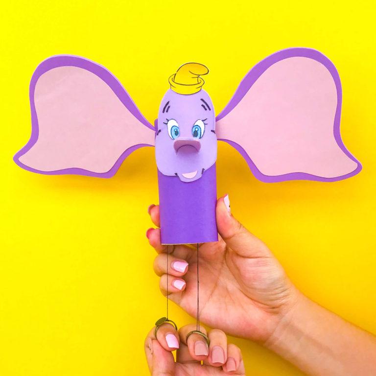 Dumbo DIY Craft: Soar Like An Elephant!