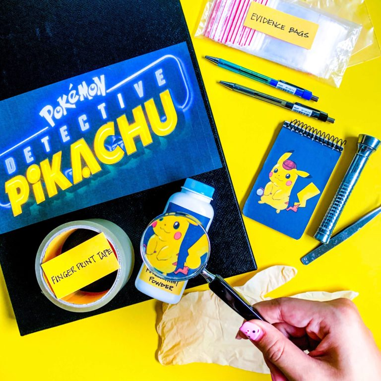Detective Pikachu DIY Craft: A Crafty Case