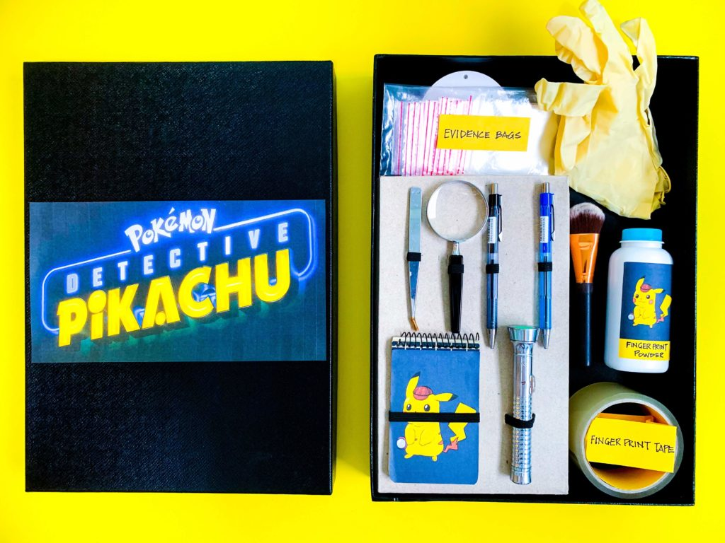 Detective Pikachu DIY Detective Kit