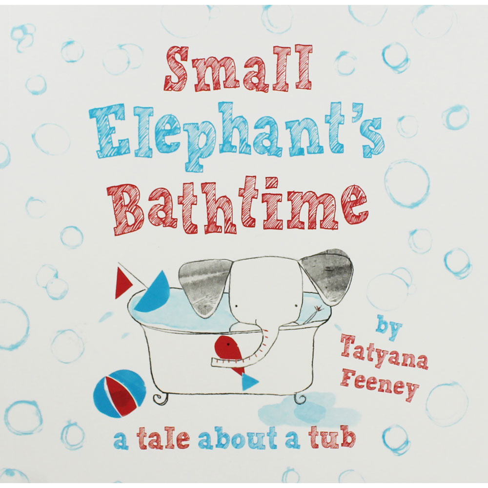 Books about Elephants - Small Elephant's Bathtime Cover