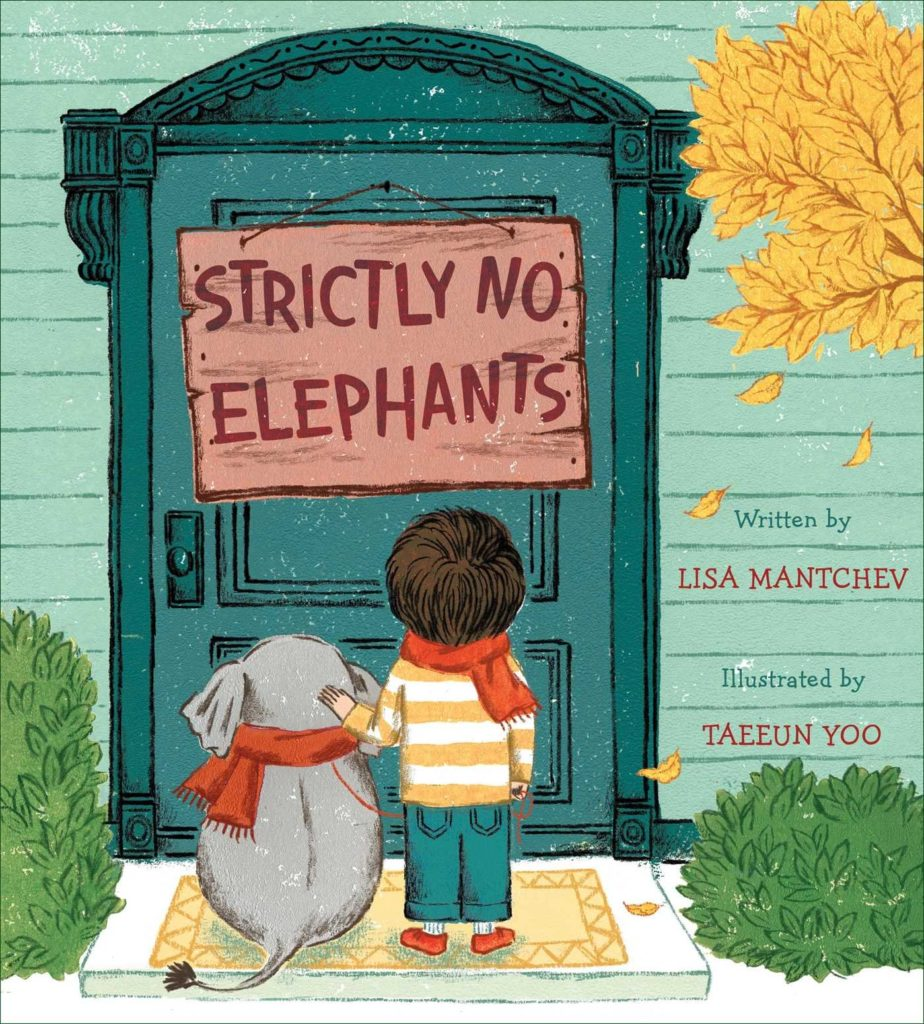 Books about Elephants - Strictly No Elephants Cover