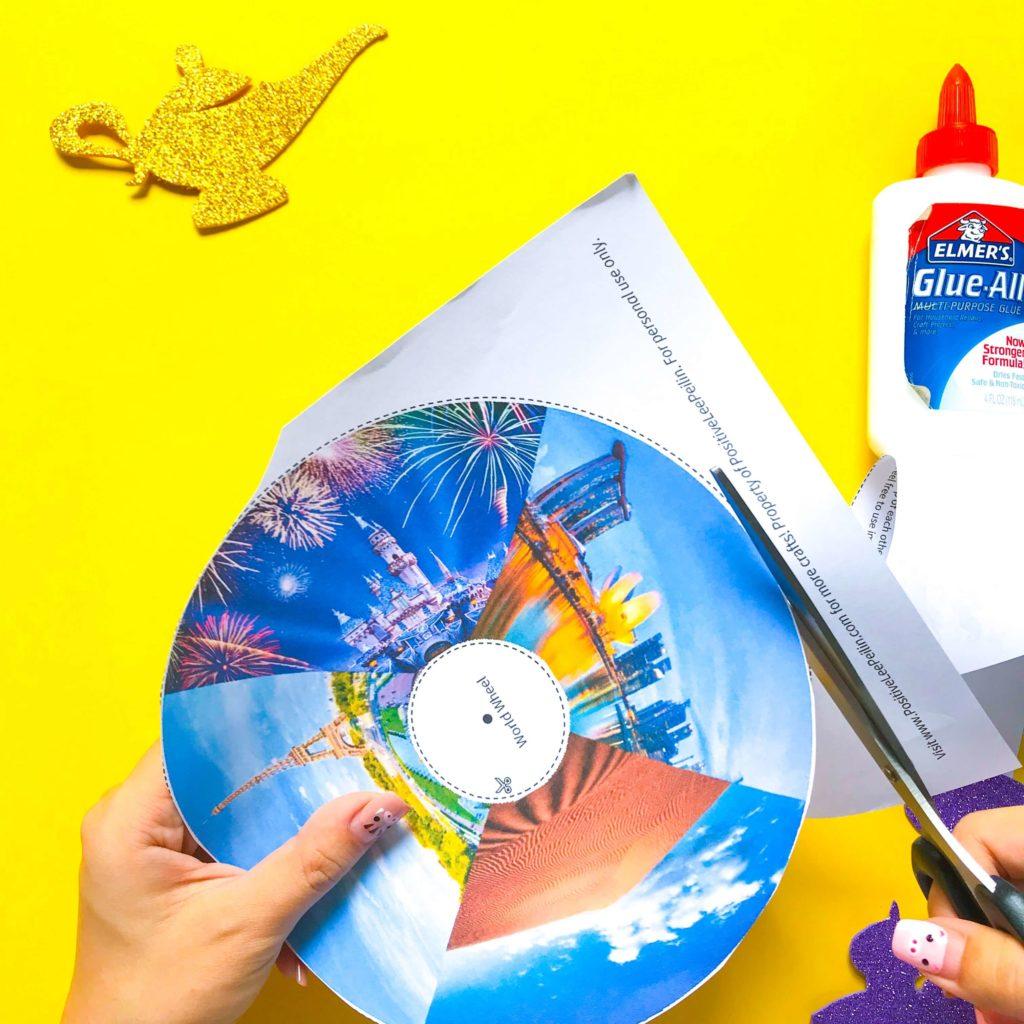 Aladdin DIY Craft Cutting