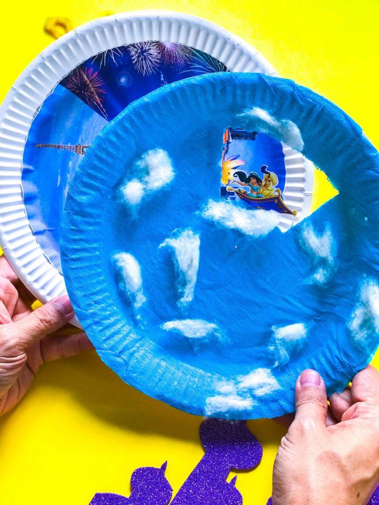 Aladdin DIY Craft Paper Plates