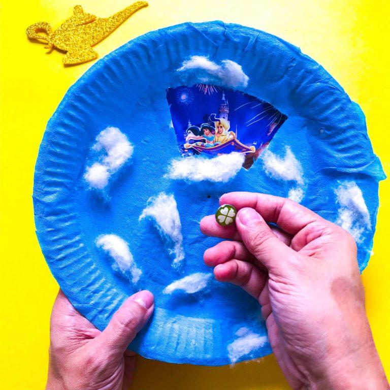 Aladdin DIY Craft: A Whole New World