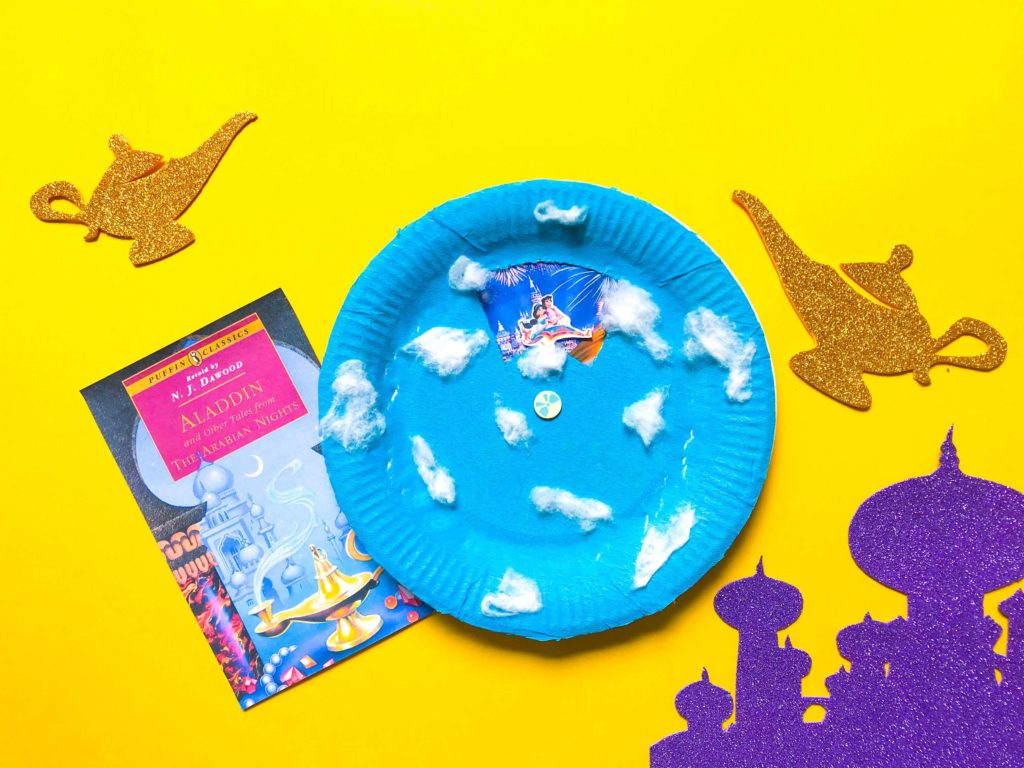 Aladdin DIY Craft with Book