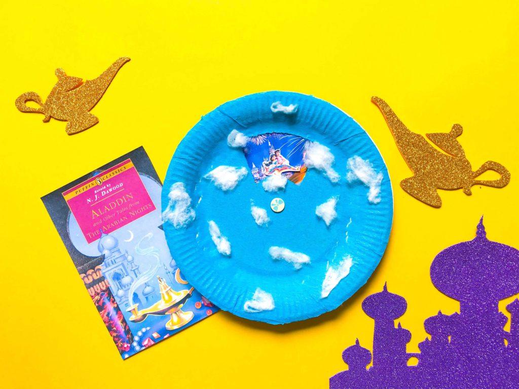 Aladdin DIY Craft with Book