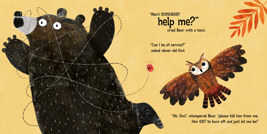 Bug Bear by Patricia Hegarty page