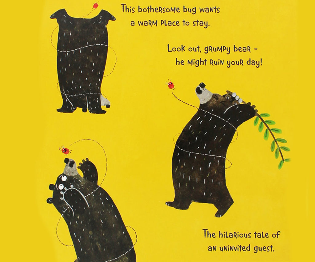 Bug Bear by Patricia Hegarty Back Cover