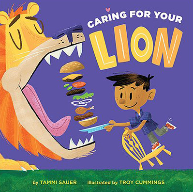 Caring for Your Lion cover