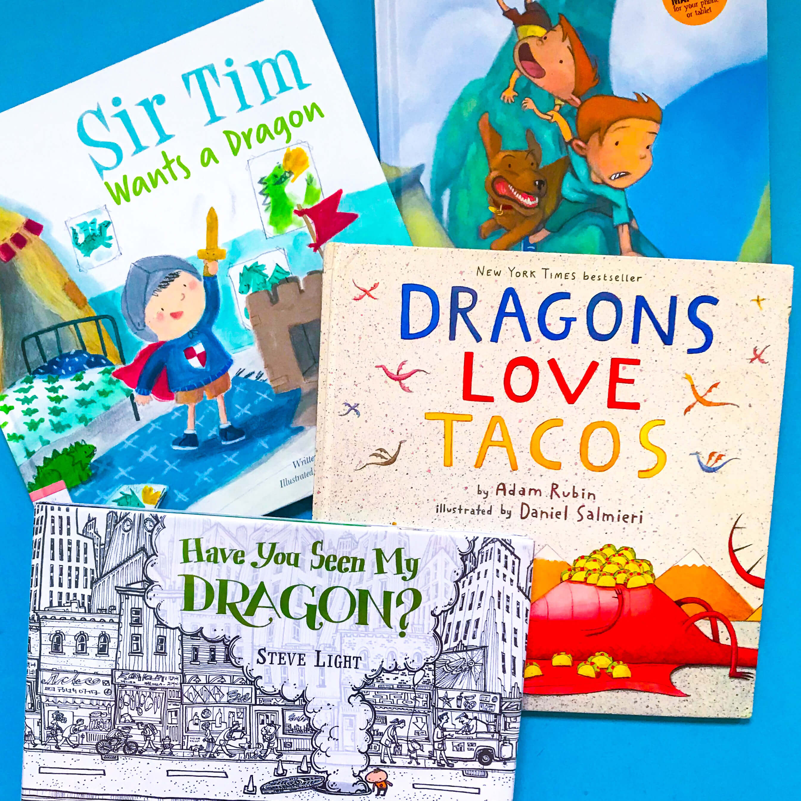 Top 3 Children's Books about Dragons