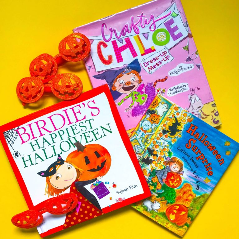 Top 3 Children's Books about Halloween