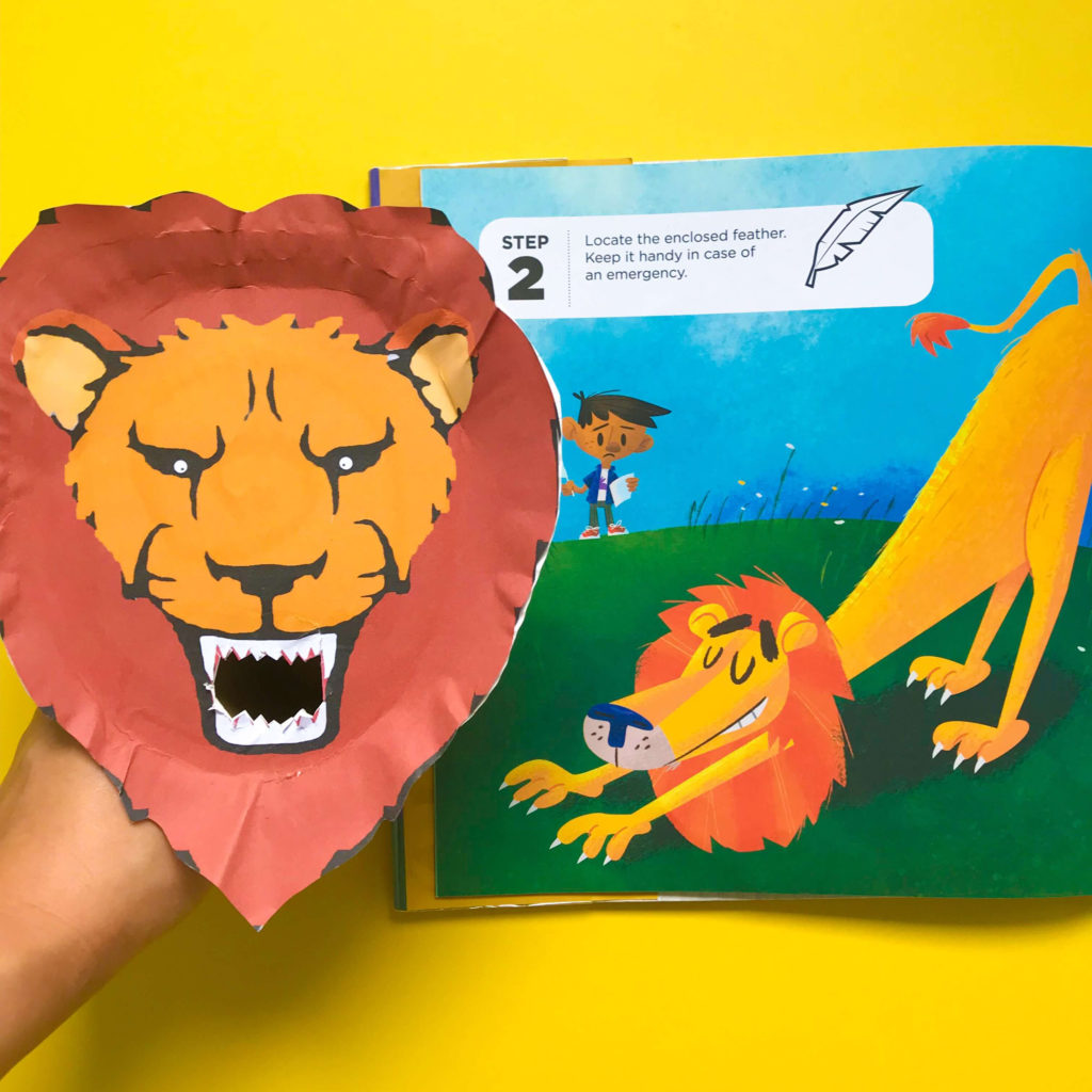 PositiveLeePeilin - Book and Craft about Lion