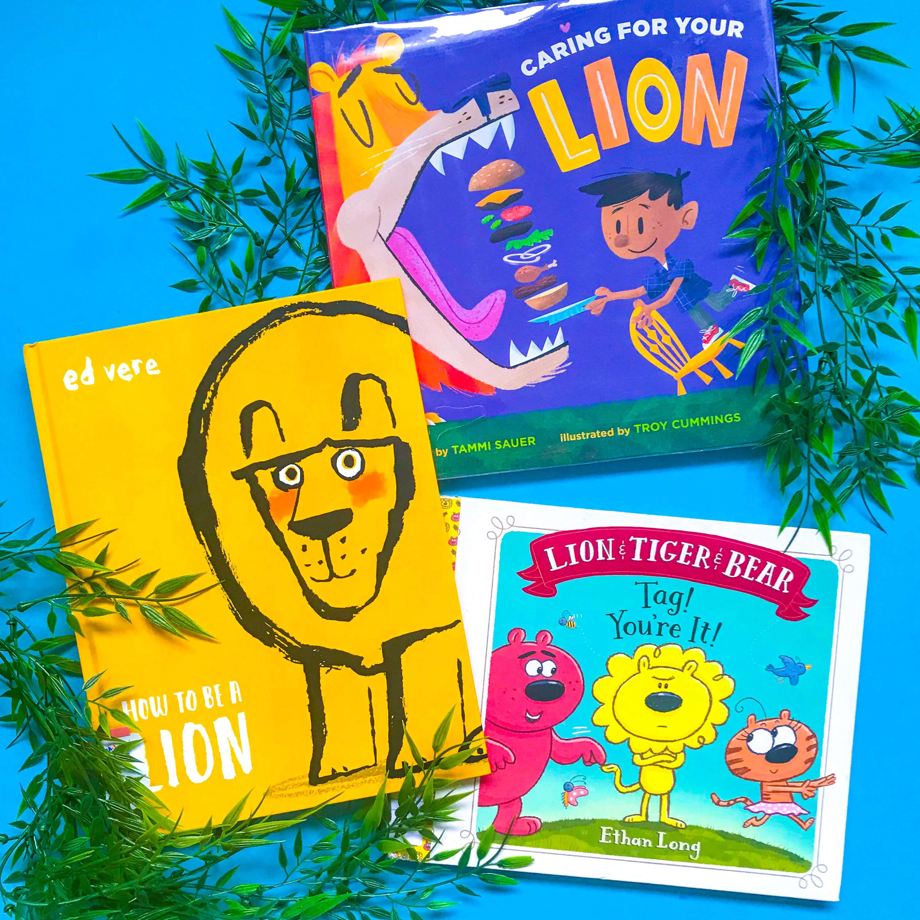 Top 3 Children's Books about Lions