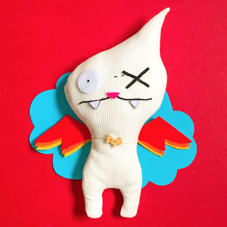 Flying Ugly Doll