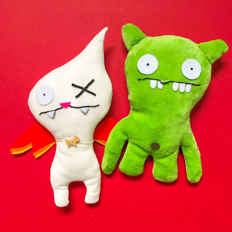 Two Ugly Dolls - Workshop with PositiveLeePeilin