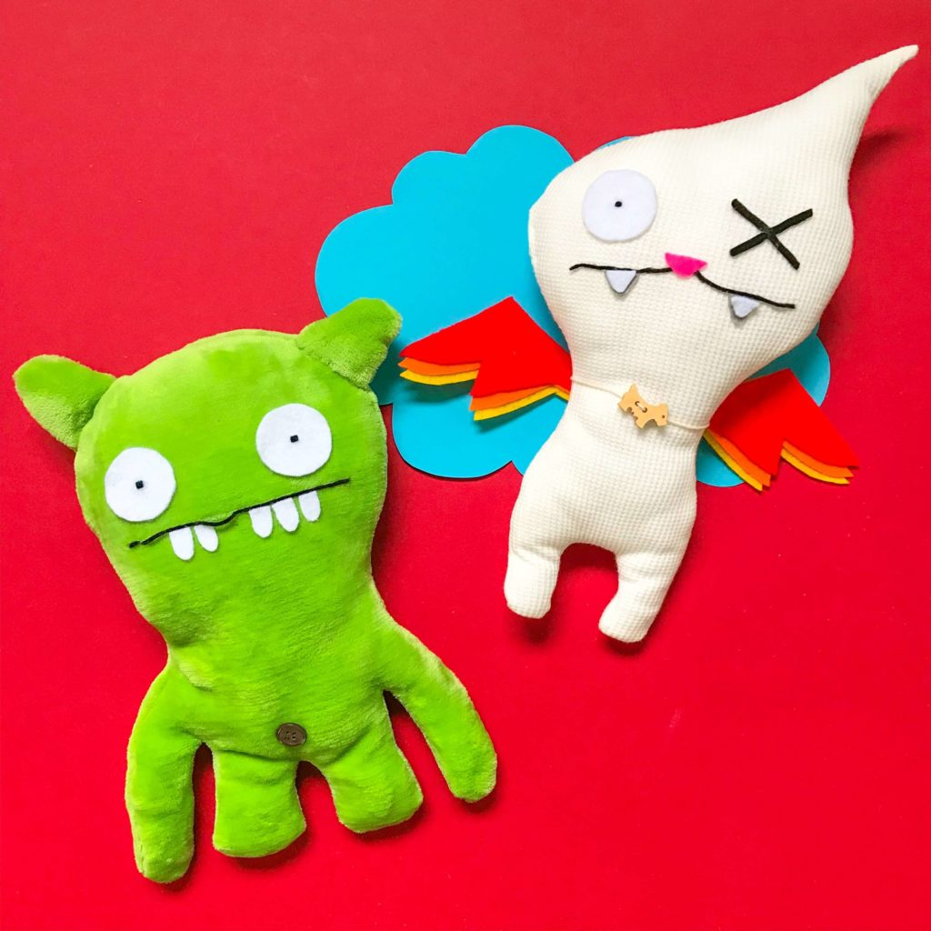 Ugly Dolls Workshop with PositiveLeePeilin