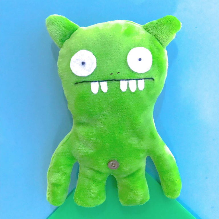 Green Ugly Doll