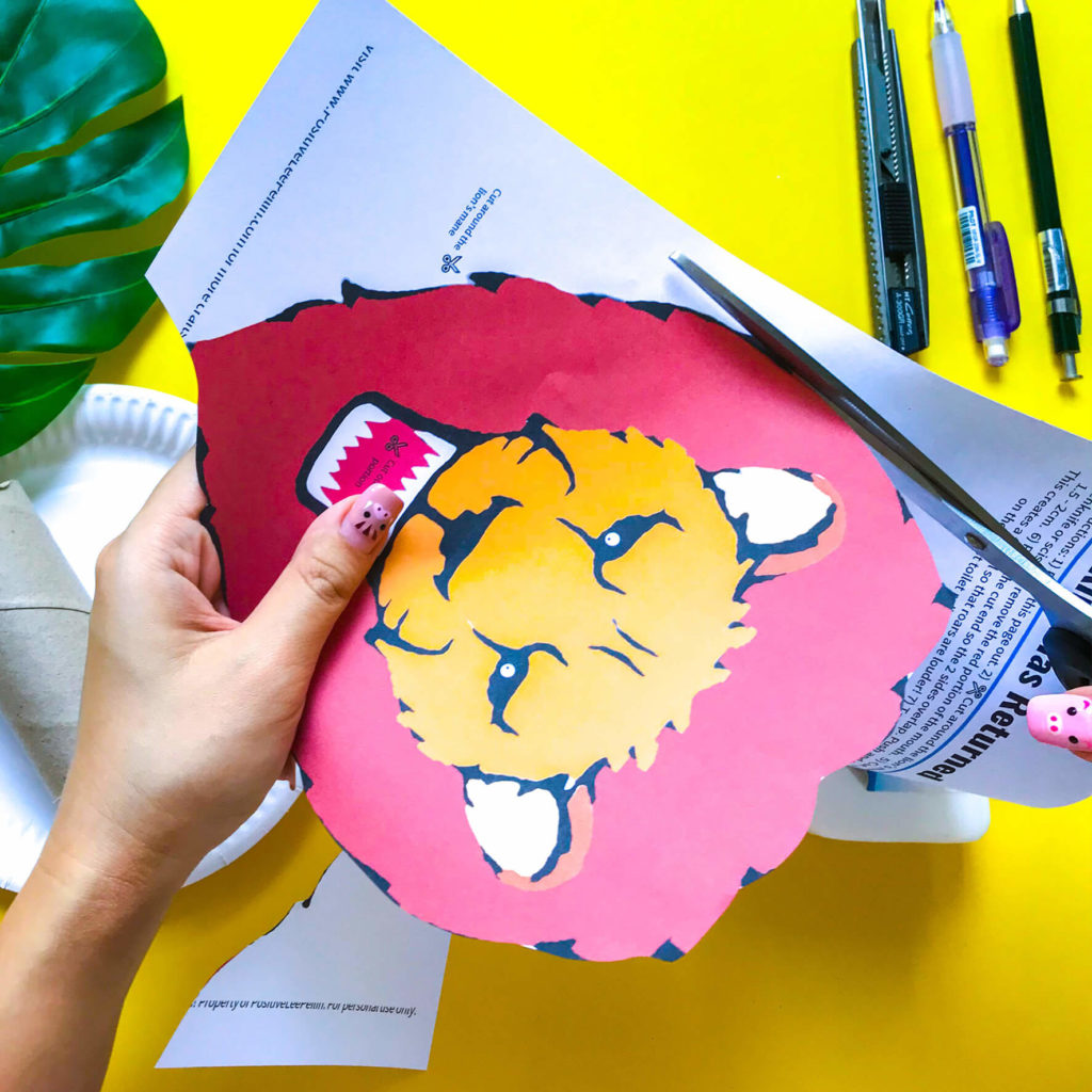 PositiveLeePeilin - The Lion King DIY Craft