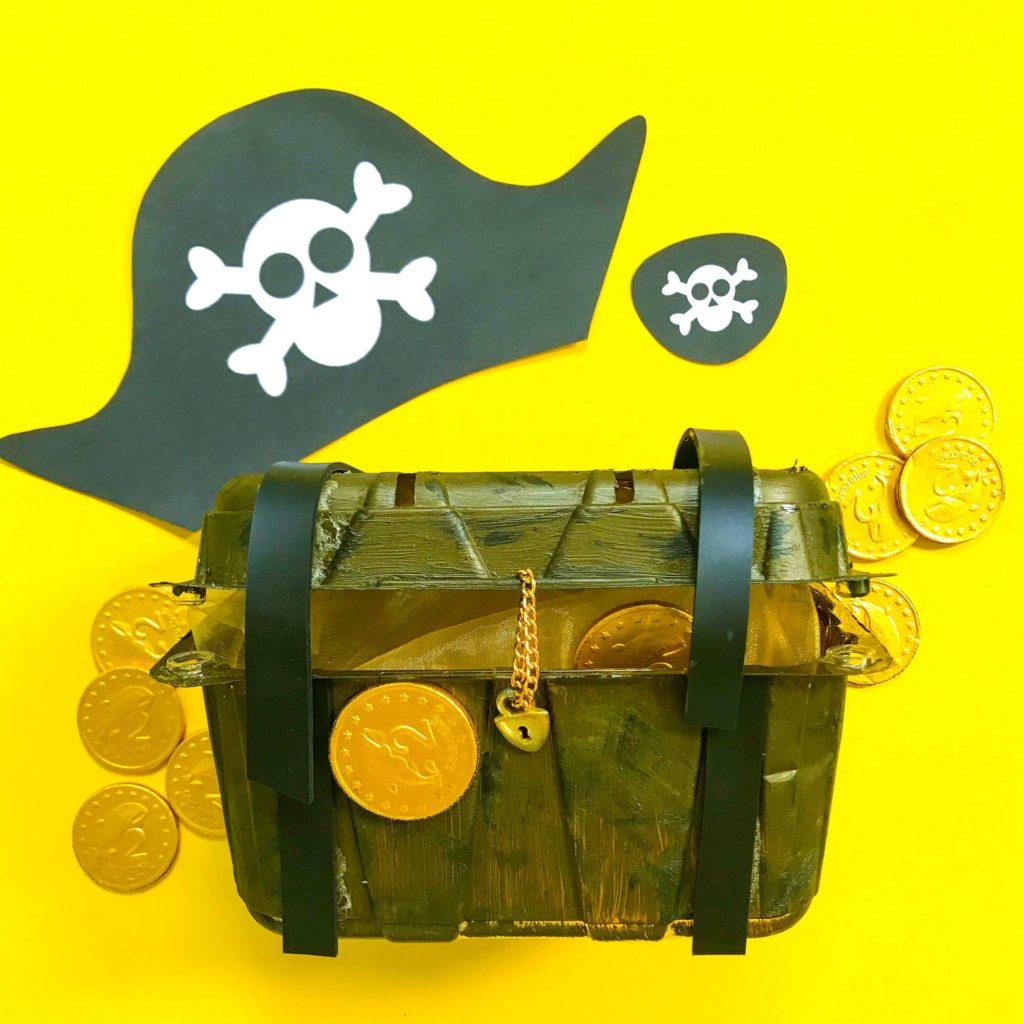 Treasure Chest DIY Craft for Pirates