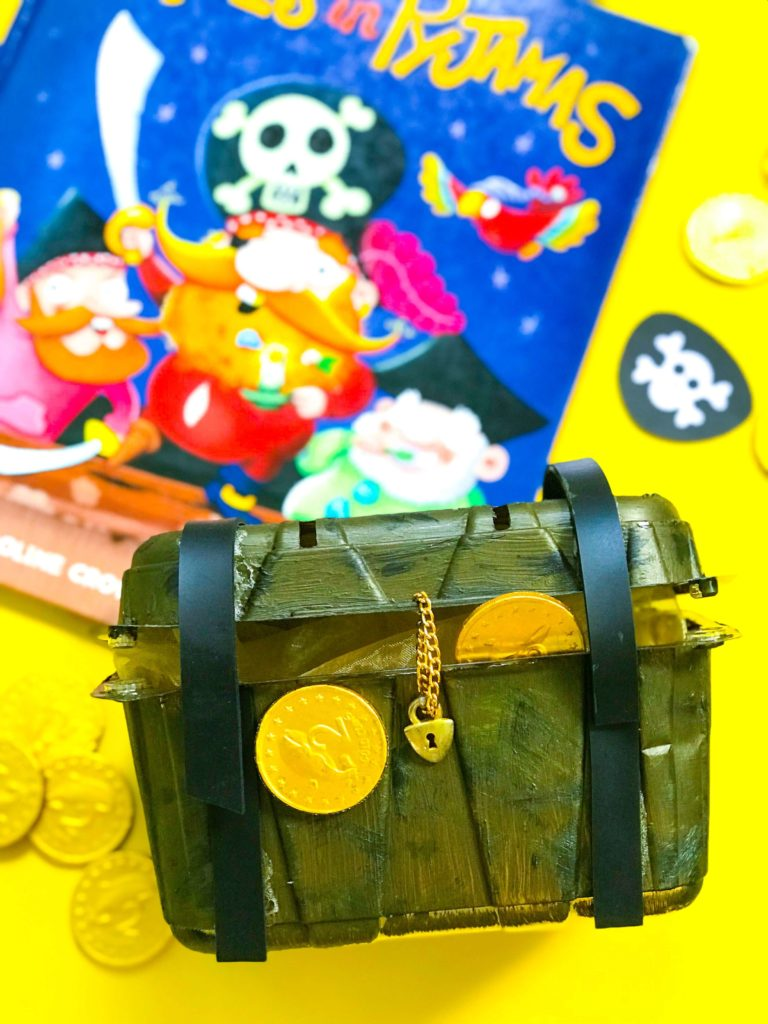 Books about Pirates and Treasure Chest DIY Craft