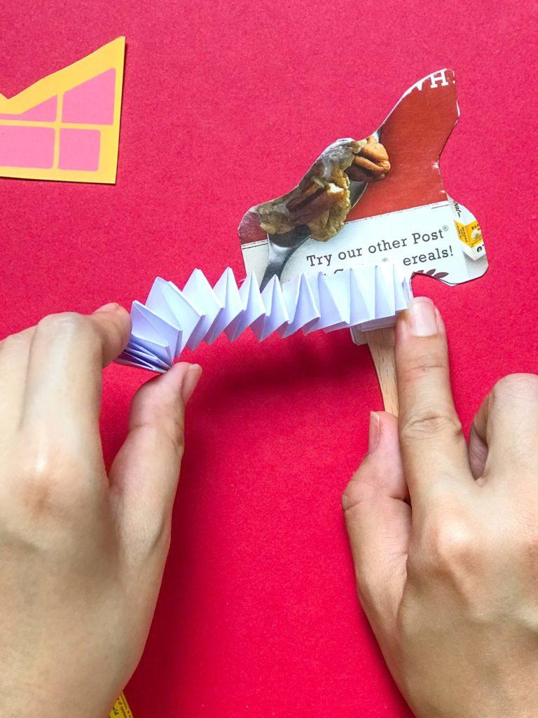 Positive Lee Peilin - Playground Dragon DIY Craft