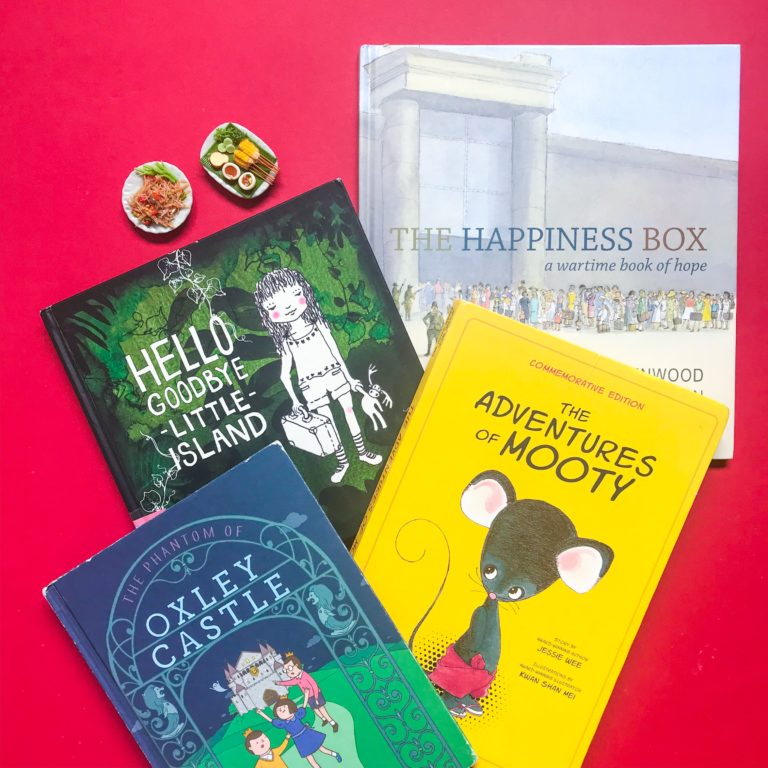 Top 3 Children's Books about Singapore