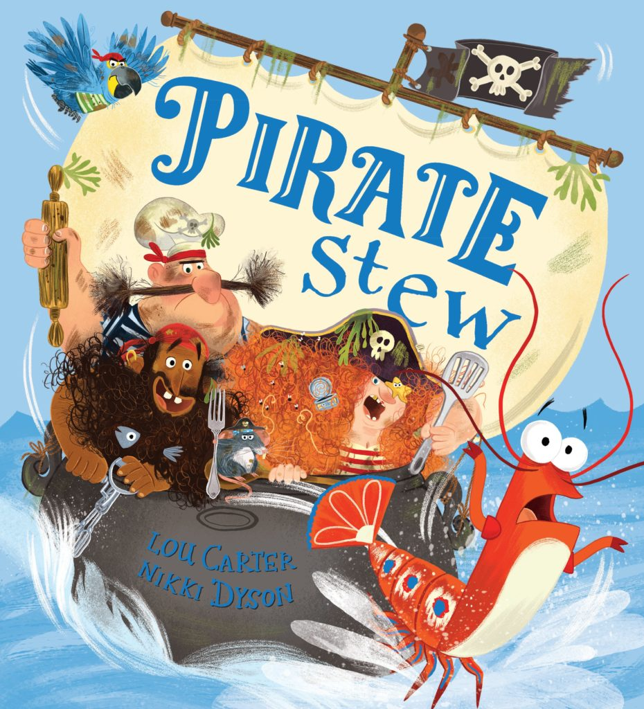Books about Pirates: Pirate Stew Cover