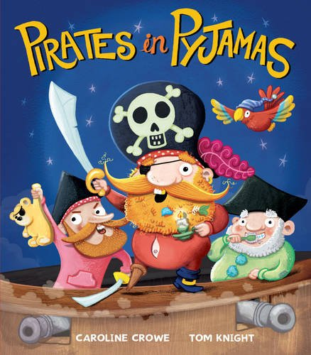 Books about Pirates: Pirates in Pyjamas Cover