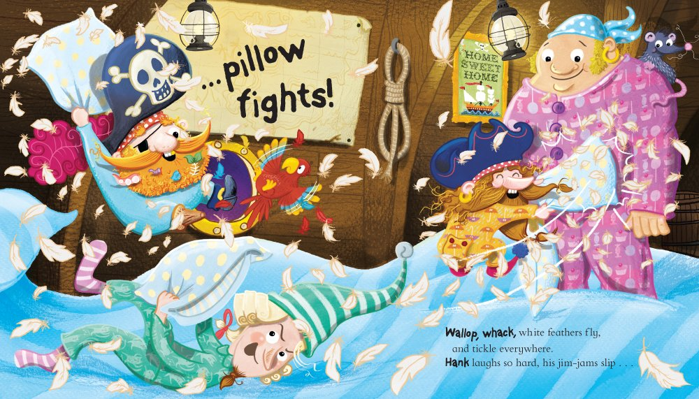 Pirates in Pyjamas Pillow Fight