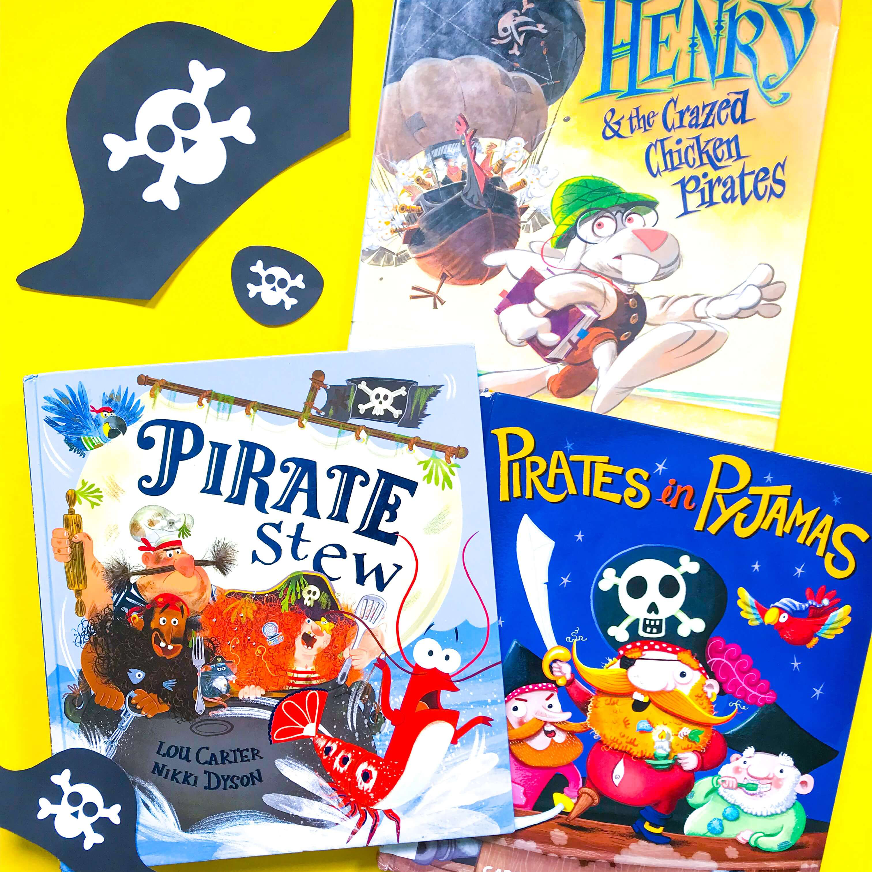 Top 3 Children's Books about Pirates