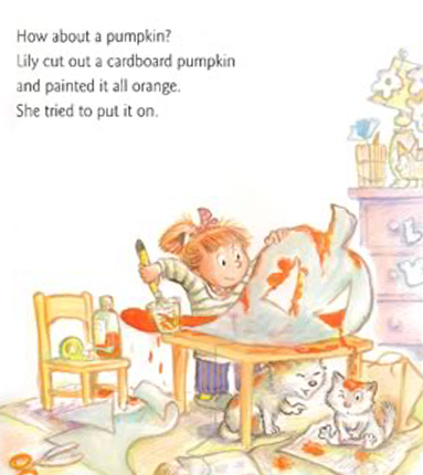 Halloween Surprise Book