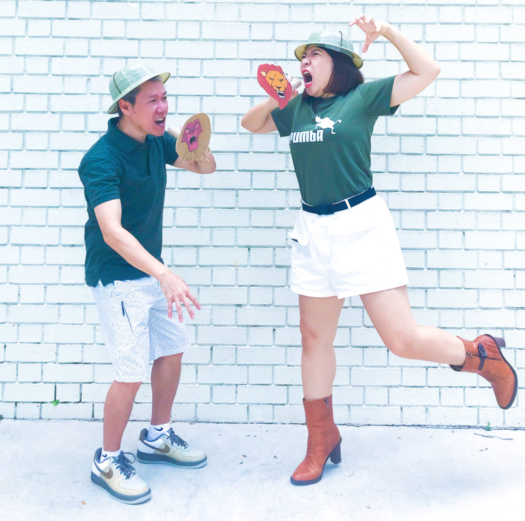 DIY Halloween Couple Costumes - Explorers