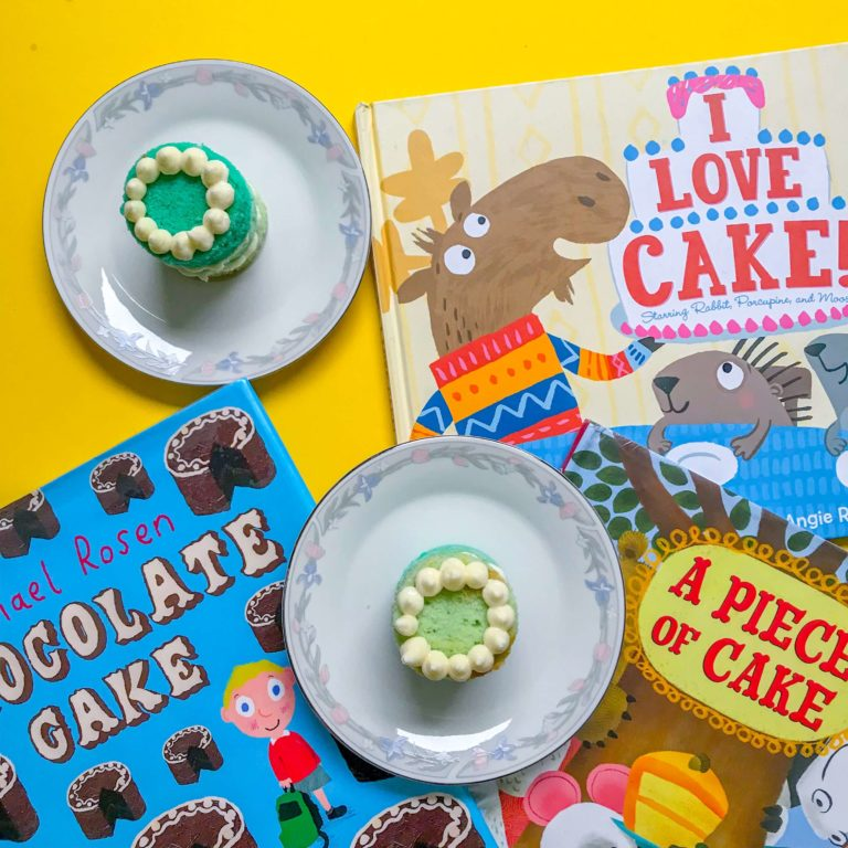 Top 3 Children's Books about Cake
