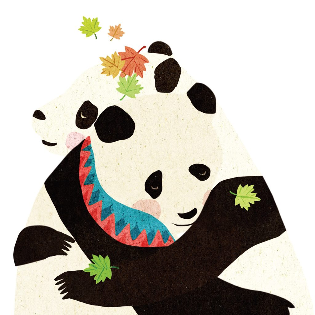 Giant: A Panda of the Enchanted Forest Back