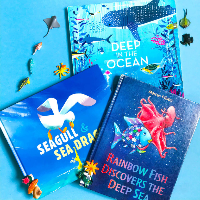 Top 3 Children's Books about the Ocean