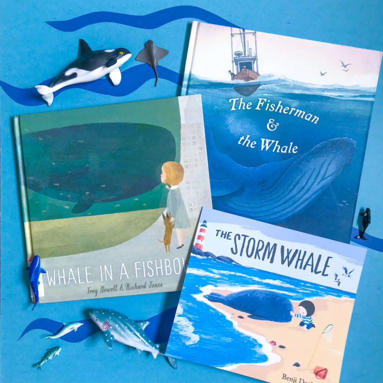 Top 3 Children's Books about Whales