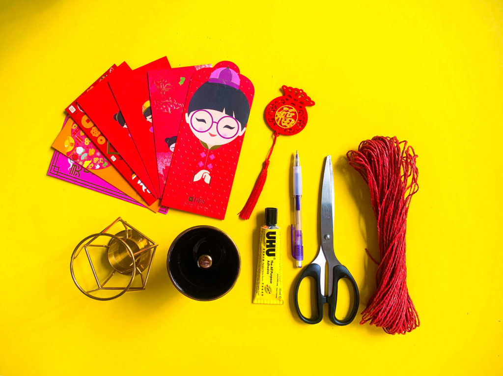 PositiveLeePeilin - Mickey CNY DIY Craft Materials