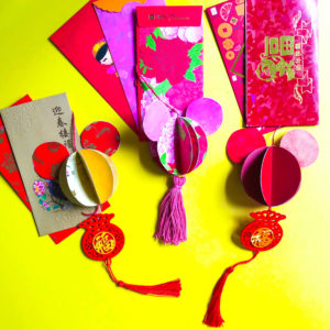 PositiveLeePeilin - Mickey CNY DIY Craft