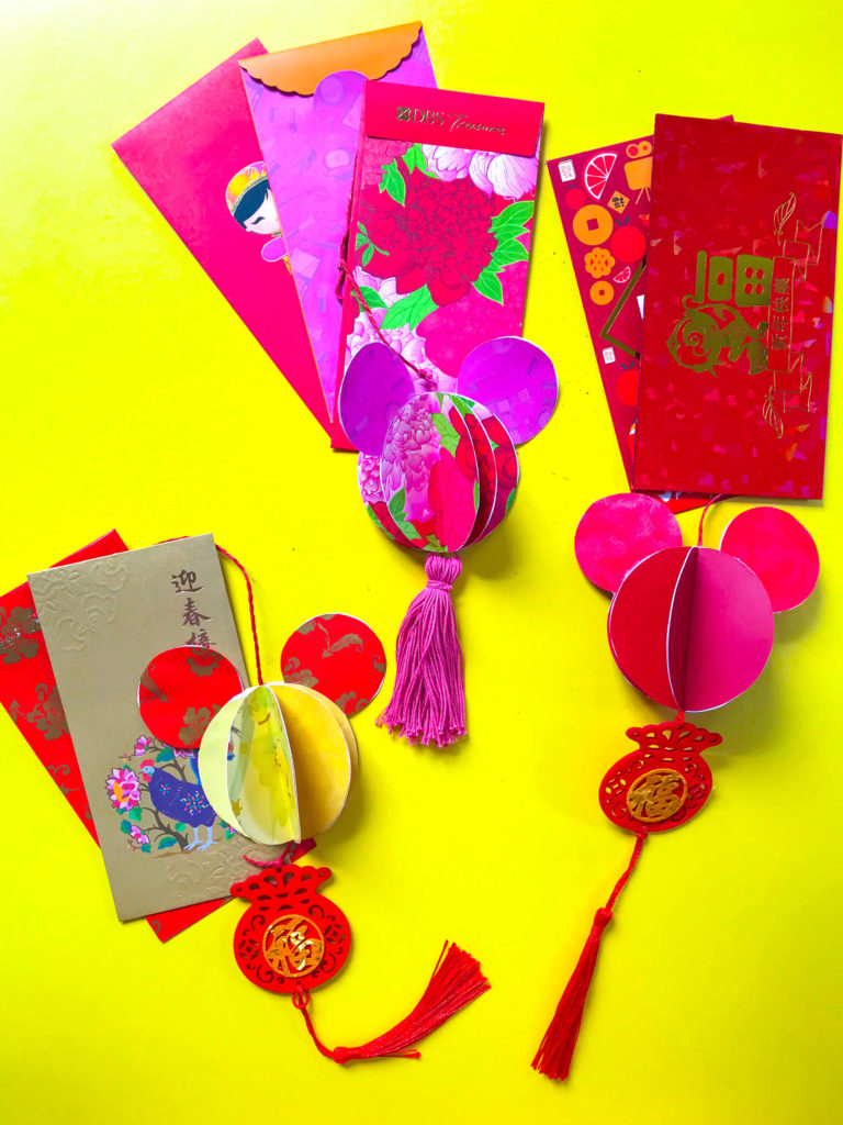 PositiveLeePeilin Mickey CNY DIY Craft